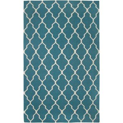 Swing Hand-Woven Wool Green Area Rug Rug Size: 2 x 3