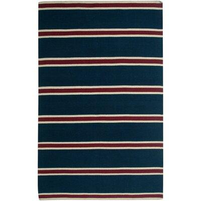 Swing Blue Rug Rug Size: 8' x 10'