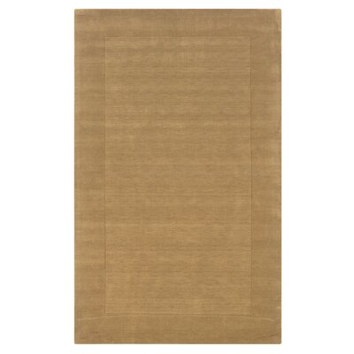 Hand-Woven Latte Area Rug Rug Size: Rectangle 5 x 8