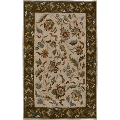 Bentley Beige Persian Rug Rug Size: 9 x 12