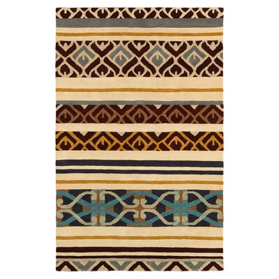 Pandora Beige Area Rug Rug Size: Rectangle 5 x 8
