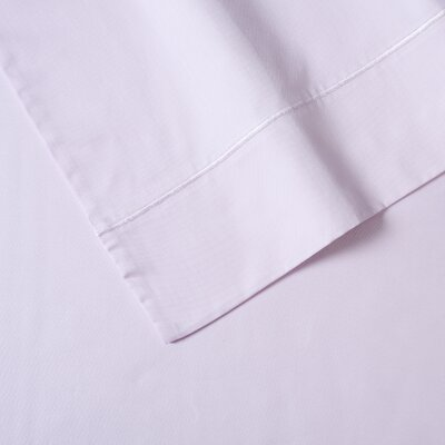400 Thread Count Sateen Cotton 4 Piece Sheet Set Size: King, Color: Pink