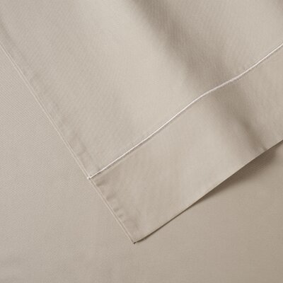 400 Thread Count Sateen Cotton 4 Piece Sheet Set Size: Queen, Color: Taupe