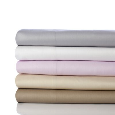 400 Thread Count Sateen Cotton Sheet Set Size: Queen, Color: Taupe