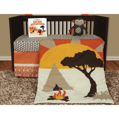 African Dream 5 Piece Crib Bedding Set SB-AD501