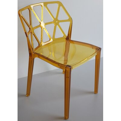 Wieland Zigzag Side Chair (Set of 2) Color: Yellow