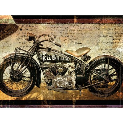 'Hell on Wheels' Painting Print on Wrapped Canvas RDBT5414 42506234