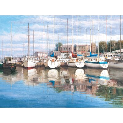 'Safe Harbor' Painting Print on Wrapped Canvas