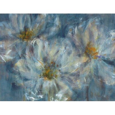'Cosmos' Painting Print on Wrapped Canvas Size: 24