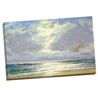 'Morning Sunrise' Painting Print on Wrapped Canvas