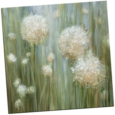 'In Bloom 33' Painting Print on Wrapped Canvas