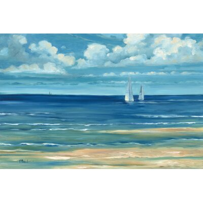 'Summerset Sailboat' Painting Print on Wrapped Canvas