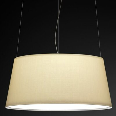Warm Big Screen Shade Pendant Bulb Type: 4 x 60W Max E-26 Medium Incandescent