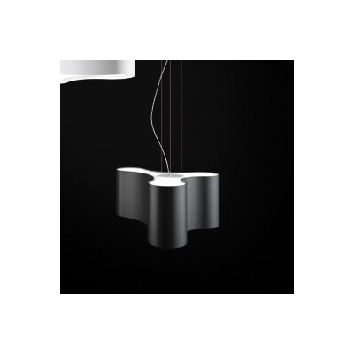 Ameba 3-Light Pendant Finish: Charcoal Grey