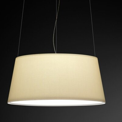 Warm Maxi Screen Shade Pendant Bulb Type: 4 x 60W Max E-26 Medium Incandescent