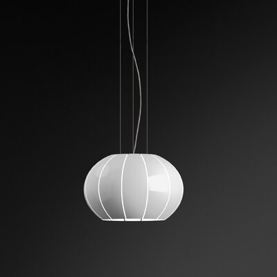 Citrus 2-Light Mini Globe Pendant Finish: White Lacquer