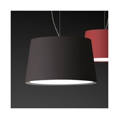 Warm Medium Pendant with Incandescent Bulb Shade Color: Red