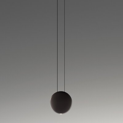 Satellite 1-Light Cluster Pendant Finish: Matte Chocolate