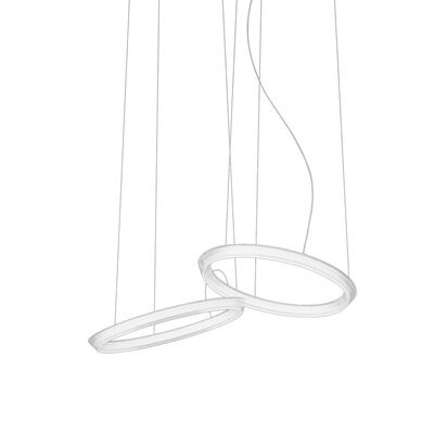 Rodarte 2-Light LED Geometric Pendant