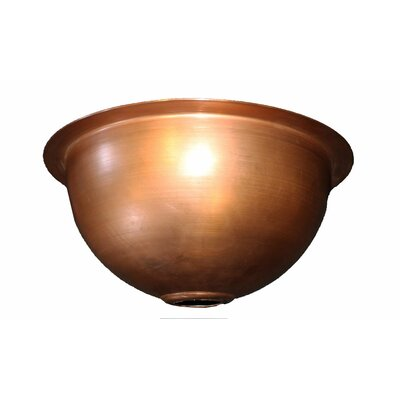 14 x 14 Copper Bowl Sink
