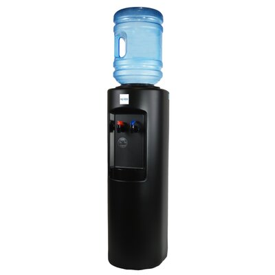 Aquverse Bottleless Free-standing Hot and Cold Water Cooler B7A-Black