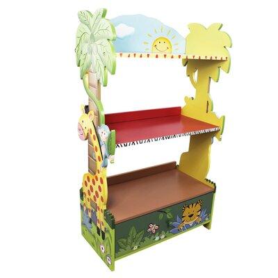 "Sunny Safari 38"" Bookshelf W-8268A"