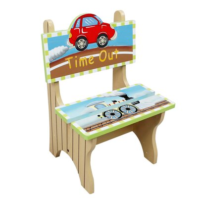 Transportation Kids Desk Chair W-9942A