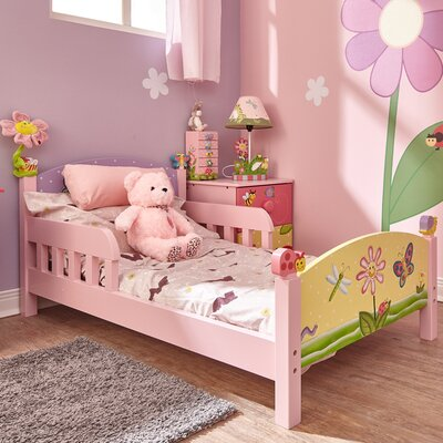 Magic Garden Panel Toddler Bed