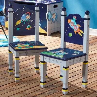 Outer Space 2 Piece Kids Desk Chair Set TD-12211A2