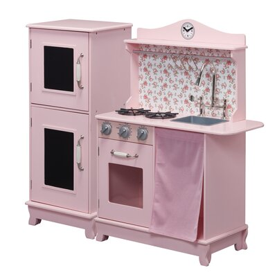 Cottage Play Kitchen Color: Pink