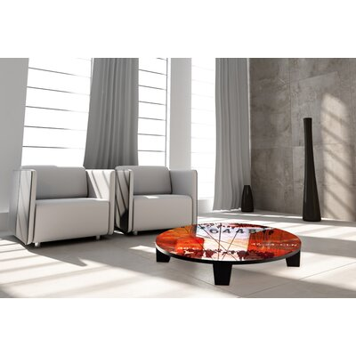 Hustle and Bustle 2 Coffee Table Size: 44 (Diameter)