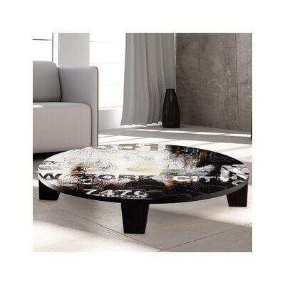 NY Summer Part 2 Coffee Table Size: 36 (Diameter)