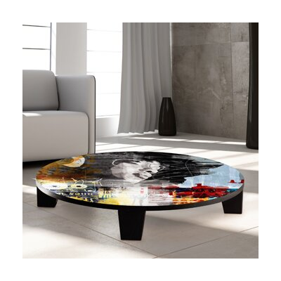 Sound Diva Coffee Table Size: 44 (Diameter)