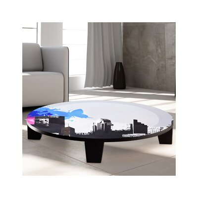 City Vibes 1 Coffee Table Size: 44 (Diameter)