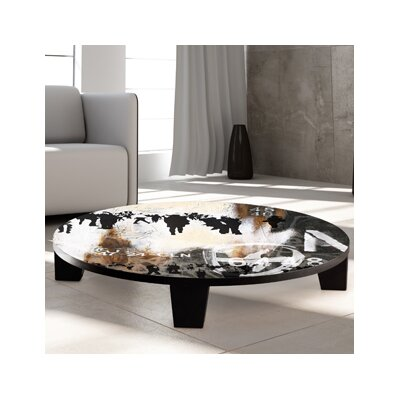 Walk on By Coffee Table Size: 44 (Diameter)