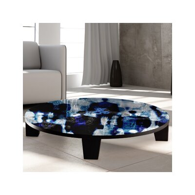 Touch Paint 1 Coffee Table Size: 36 (Diameter)