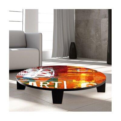 Art Street Coffee Table Size: 44 (Diameter)