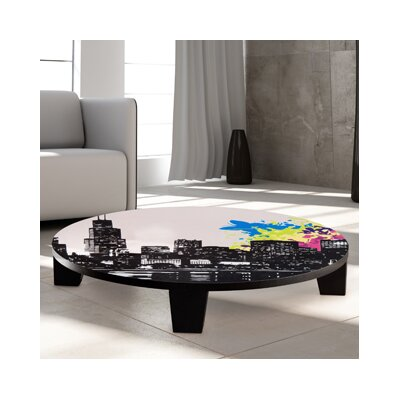 City Vibes 2 Coffee Table Size: 44 (Diameter)