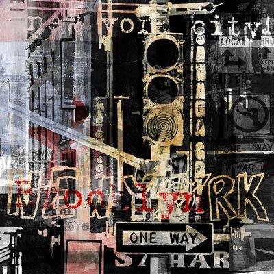 Pop City 8 by Erik DeAndre' Graphic art Size: 19'' H x 19'' W x 1.3'' D TAF-DGSVN009A