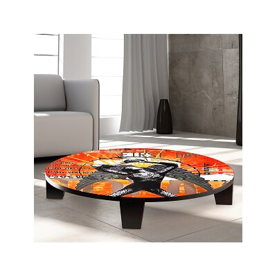 Rebirth Table Art Size: 44 W x 44 D