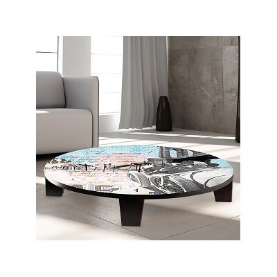 Trailblazer Table Art Size: 44 W x 44 D