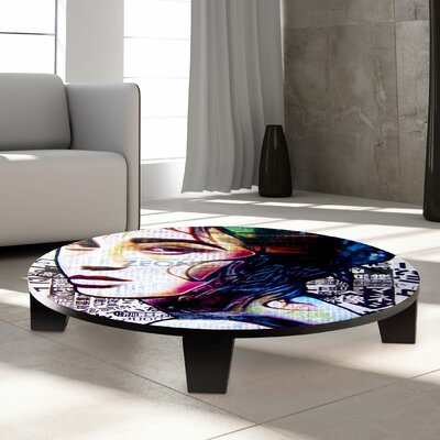 Tokyo Neon Coffee Table Size: 44 W x 44 D