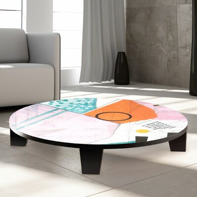Sunny Day Coffee Table Size: 35 W x 35 D