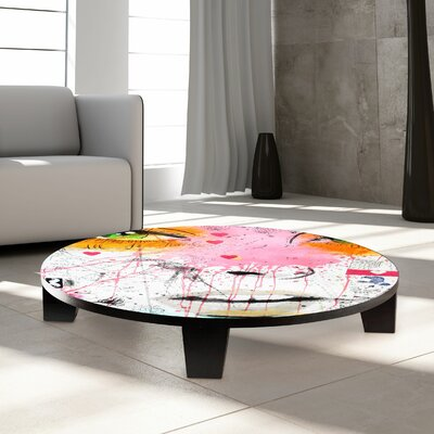 Quite Frankly Coffee Table Size: 35 W x 35 D