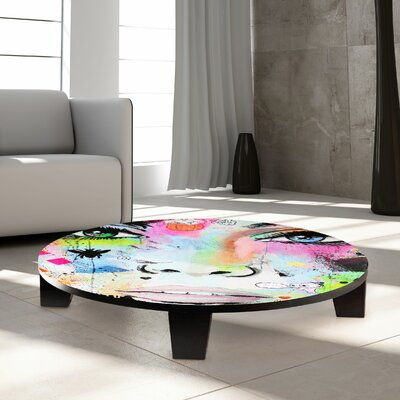 Hello Coffee Table Size: 35 W x 35 D