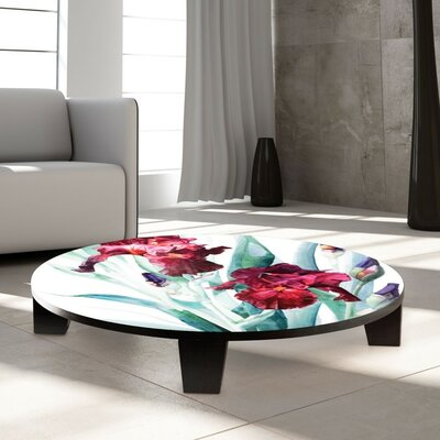Iris Donatello Coffee Table Size: 35 W x 35 D