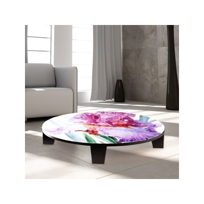 Iris Luciano Pavarotti Coffee Table Size: 35 W x 35 D