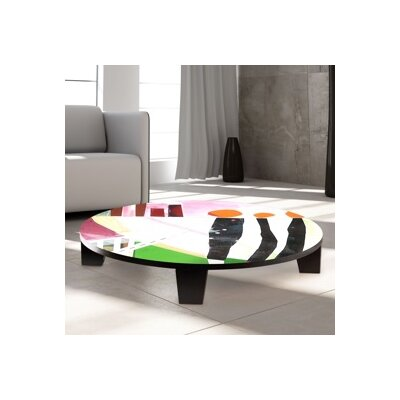 Cachets Coffee Table Size: 35 W x 35 D