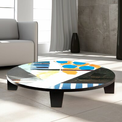 Happy Feeling Coffee Table Size: 35 W x 35 D