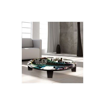 I Love You but Ive chosen Disco Coffee Table Size: 44 W x 44 D